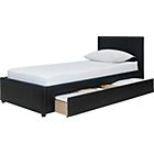 more details on Hygena Heston Single Bed Frame - Black.