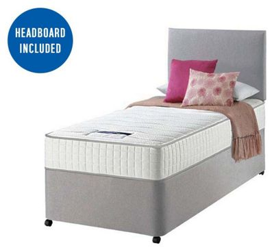 Buy Silentnight Stroud Memory Small Double Divan Bed At Your Online Shop For Divan