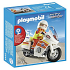more details on Playmobil 5544 City Action Emergency Motorcycle.