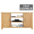 more details on Heart of House Oxley 2 Door Low Sideboard/TV Unit-Solid Oak.
