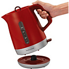 more details on Morphy Richards 101209 Chroma Jug Kettle - Red.