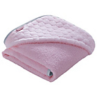 more details on Clair de Lune Marshmallow Hooded Towel - Pink.