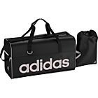 more details on Adidas Linea Medium 2 Piece Holdall Set - Black.