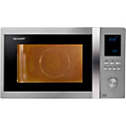 more details on Sharp R982STM 42 Litre 1000w Combi Microwave-Stainless Steel