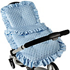more details on Clair de Lune Dimple Continental Pram Set - Blue.