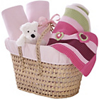 more details on Clair de Lune Polly Moses Gift Basket - Pink.