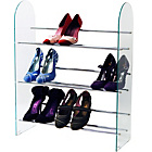 more details on 3 Tier Shelf Rack - Glass/Chrome.
