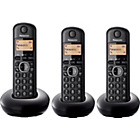 more details on Panasonic KX-TGB213E Cordless Telephone - Triple.