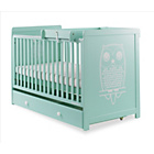 more details on Cosatto Story Cot Bed with Top Changer and Drawer - Owlet.