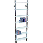 more details on Tall Shelving Unit - Clear Glass.