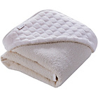 more details on Clair de Lune Marshmallow Hooded Towel - Cream.