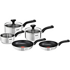more details on Tefal Comfort Max 5 Piece Stainless Steel Pan Set.