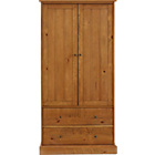 more details on Heart of House Joseph 2 Door 2 Drawer Wardrobe.