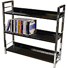 more details on 3 Tier Multi Purpose Shelving Unit - Black.