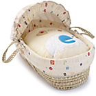 more details on Clair de Lune ABC Palm Moses Basket.