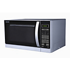 more details on Sharp R762 900w 25 Litre Microwave with Grill - Silver.