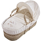 more details on Clair de Lune My Toys Palm Moses Basket - Ivory.