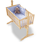 more details on Clair de Lune Honeycomb 2 Piece Crib Set - Blue.