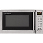 more details on Russell Hobbs RHM2031 20L Grill Microwave - Stainless Steel.