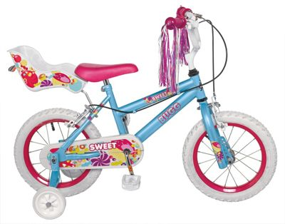 BUGG Sweet 14 Inch Bike - Girls