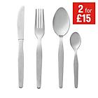 more details on HOME Lisbon 16 Piece Stainless Steel Cutlery Set.