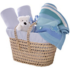 more details on Clair de Lune Polly Moses Gift Basket - Blue.