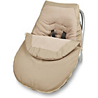 more details on Clair de Lune Car Seat Footmuff - Sand.