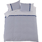 more details on Heart of House Sebastian Blue Bedding Set - Kingsize.