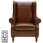 more details on Heart of House Argyll Leather Chair - Tan.