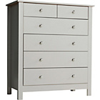 more details on Osaka 4+2 Drawer Chest - Putty.