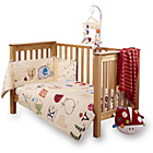 more details on Clair de Lune Cot Bed Quilt and Bumper Set - ABC.