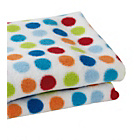 more details on Clair de Lune Fun and Funky Pram Blanket - Lollipop.