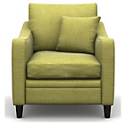 more details on Heart of House Newbury Fabric Chair - Olive.