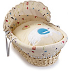 more details on Clair de Lune ABC Natural Wicker Moses Basket.