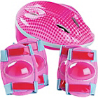 more details on Bike Helmet and Pad Set - Girl's.