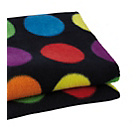 more details on Clair de Lune Fun and Funky Pram Blanket - Luna Spot.