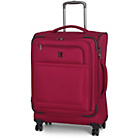 more details on IT Luggage Luxlite Medium 8 Wheel Expandable Suitcase - Red.