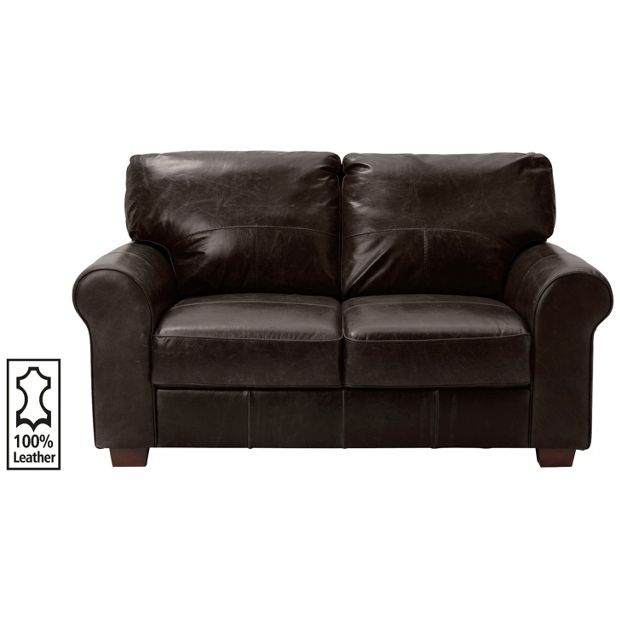 Shop Sofas Online: Buy Heart Of House Salisbury 2 Seater Leather Sofa