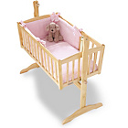 more details on Clair de Lune Honeycomb 2 Piece Crib Set - Pink.