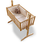 more details on Clair de Lune Stardust 2 Piece Crib Set - Cream.