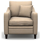 more details on Heart of House Newbury Fabric Chair - Beige.