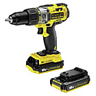 more details on Stanley Fatmax 18V Cordless Hammer Drill with 2 Batteries.
