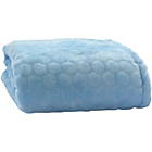 more details on Clair de Lune Marshmallow Pram Blanket - Blue.