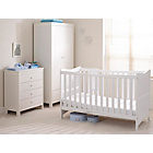 more details on Saplings Kitty Nursery Furniture Set - White.