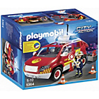 more details on Playmobil Fire Chief's Car with Light and Sound.