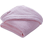 more details on Clair de Lune Honeycomb Hooded Towel - Pink.