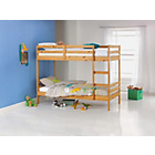 more details on Ellery Single Natural Bunk Bed Frame with Ashley Mattress.