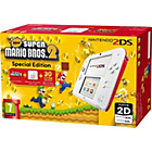 more details on 2DS White/Red Console with Super Mario Bros. 2.