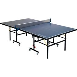 Slazenger Indoor/Outdoor Foldable Table Tennis Table - Blue