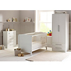 more details on Saplings Kirsty Nursery Furniture Set - White.